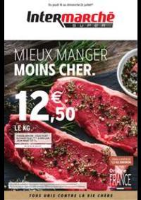 Prospectus Intermarché Super Montivilliers : MIEUX MANGER MOINS CHER.
