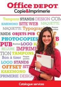 Prospectus Office DEPOT Velizy - Villacoublay : GUIDE SERVICE COPIE ET IMPRIMERIE