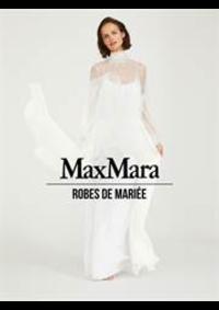 Prospectus Max Mara Le Chesnay  : Robes de Mariée