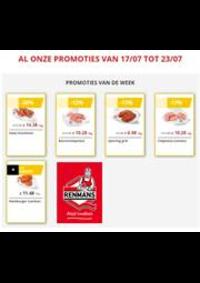Prospectus Boucherie Renmans ANTOING : Renmans Acties