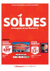 Promos et remises Auchan Val d'Europe Marne-la-Vallée : SOLDES : en magasin et sur Auchan.fr