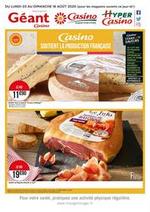 Prospectus Supermarchés Casino : Casino soutient la production française