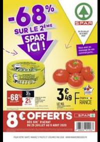 Promos et remises Spar PARIS 19 : -68% sur le 2ème, Spar ici !