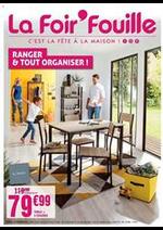 Prospectus La Foir'Fouille : Ranger & tout organiser!