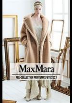 Catalogues et collections Max Mara : Pré-Collection PrintempsÉté 2021