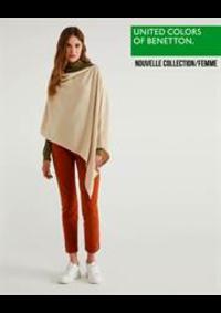 Catalogues et collections United Colors of Benetton Bruxelles - Av Louise  : Nouvelle Collection  Femme