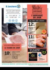 Prospectus E.Leclerc CLICHY : L'ARRIVAGE DU JOUR
