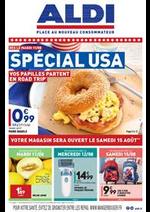 Prospectus Aldi : Spécial USA
