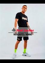 Prospectus Foot Locker : Nouveautés / Homme