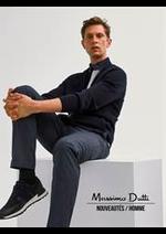 Prospectus Massimo Dutti : Nouveautés / Homme