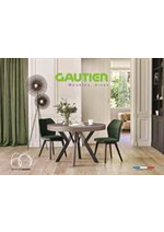 Prospectus  : Catalogue Gautier Home