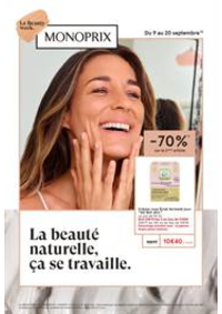 Prospectus Monoprix : La Beauty week