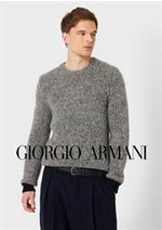 Prospectus Armani : Collection Homme