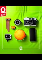 Menus Quick : À la carte