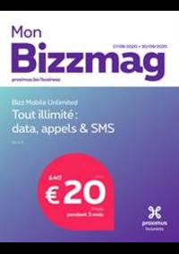 Journaux et magazines Proximus Center DINANT : Bizzmag