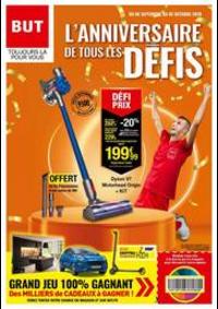 Prospectus But Villefranche de Rouergue : L'ANNIVERSAIRE DE TOUS LES DÉFIS
