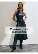 Prospectus Massimo Dutti : Collection Cuir / Femme