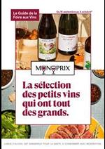 Prospectus Monoprix : La sélection des petits vins qui ont tout des grands.