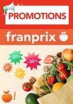Promos et remises  : Promotions Franprix