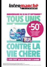 Prospectus Intermarché Super Morsang-sur-Orge : TOUS UNIS CONTRE LA VIE CHÈRE
