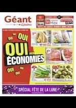 Prospectus Géant Casino : Oui aux économies