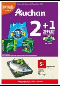 Prospectus Auchan BAGNOLET : Les indispensables de l'automne