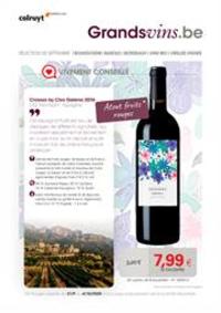 Prospectus Colruyt WAREMME : Wijnrappel