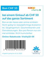 Bons Plans Coop Vitality : Coop Vitality Offers