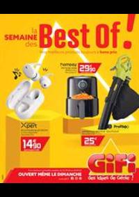 Prospectus Gifi Paris 14 : La semaine des Best of!