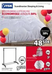 Prospectus Jysk SAINT DOULCHARD : Économisez jusqu'à 50%