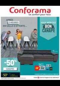 Promos et remises Conforama LE HAVRE - GONFREVILLE L'ORCHER : Vouz méritez un bon canapé