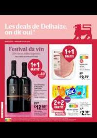 Promos et remises Supermarché Delhaize Sint-Truiden : Nouveau: Promotion de la semaine
