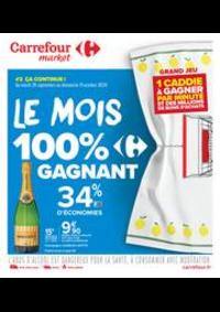 Prospectus Carrefour Market NOISY LE SEC : Le mois 100% gagnant