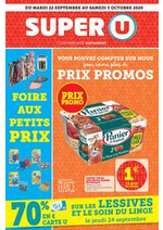 Promos et remises Super U : Catalogue Super U