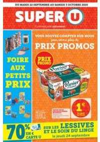 Promos et remises Super U AMPHION LES BAINS : Catalogue Super U