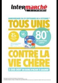 Promos et remises Intermarché Super Dampierre-les-Boi : TOUS UNIS CONTRE LA VIE CHÈRE
