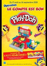 Prospectus Jouets Sajou Joinville-le-Pont : Opération Le Compte est bom Play-Doh