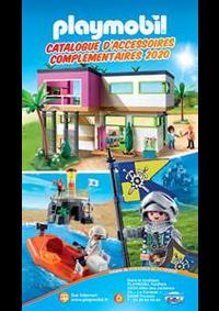 Prospectus Playmobil FunPark boutique : Catalogue d'accessoires complementaires 2020