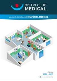 Prospectus Distri Club Médical Nice : Catalogue 2020 pour les Professionnels