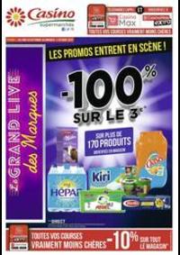 Prospectus Supermarchés Casino CARRIERES SUR SEINE : Les promos entrent en scène !