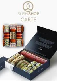 Prospectus Sushi shop Asnires sur Seine : Carte Sushi Shop