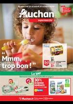 Prospectus Auchan Supermarché : Mmm, trop bon !