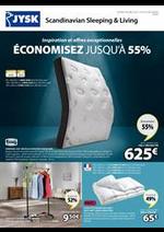 Prospectus Jysk : Économisez jusqu'à 55%
