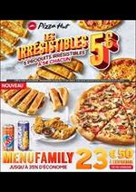 Menus Pizza hut : Offres Pizza Hut