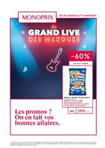 Prospectus Monoprix : Le grand live des marques