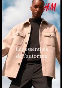Prospectus H&M Evry : Les essentiels de l'automne
