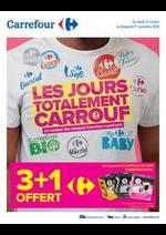 Promos et remises Carrefour : LES JOURS TOTALEMENT CARROUF