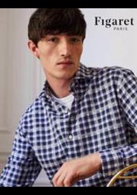 Prospectus Alain Figaret paris rue de Sèvres : Chemises Casual Homme