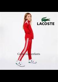 Prospectus Lacoste Boulogne Billancourt : Collection enfants