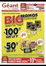 Promos et remises Géant Casino : Big promos